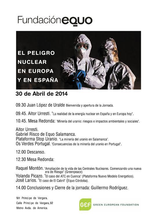 El peligro nuclear en Europa y en España