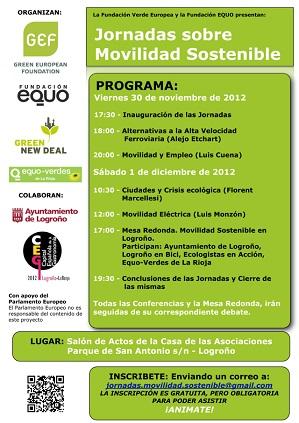 Jornadas sobre Movilidad Sostenible en Logroño