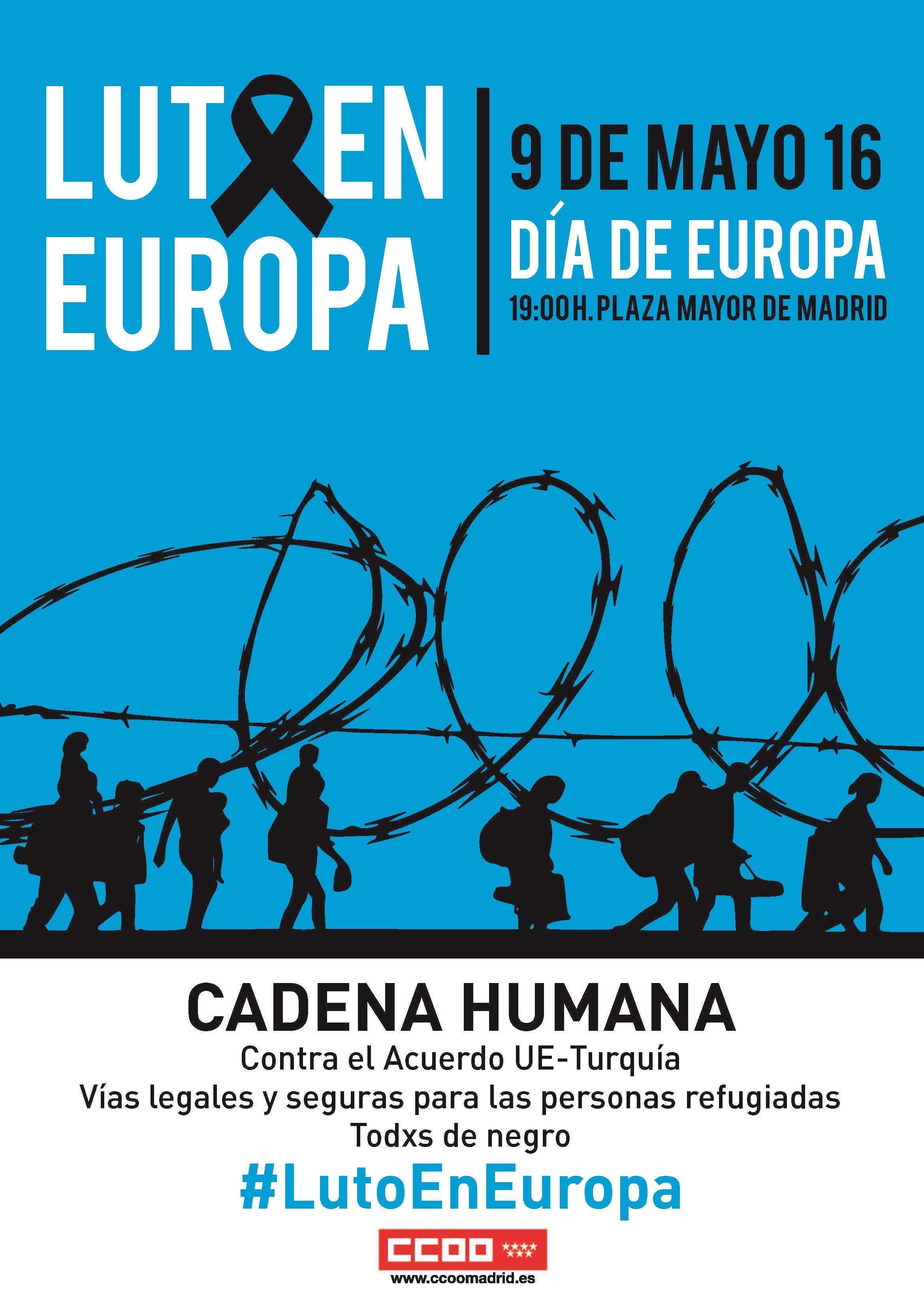 Cadena Humana por las personas refugiadas