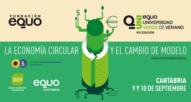 Universidad Verde de Verano 2016. Economía Circular en Torrelavega