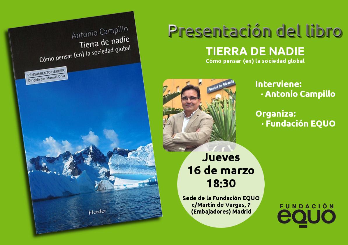 """Momentos de la presentación del libro """"Tierra de Nadie"""""""