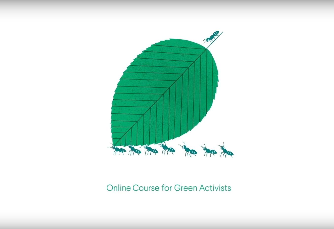 Impact Europe. Curso online para activistas verdes