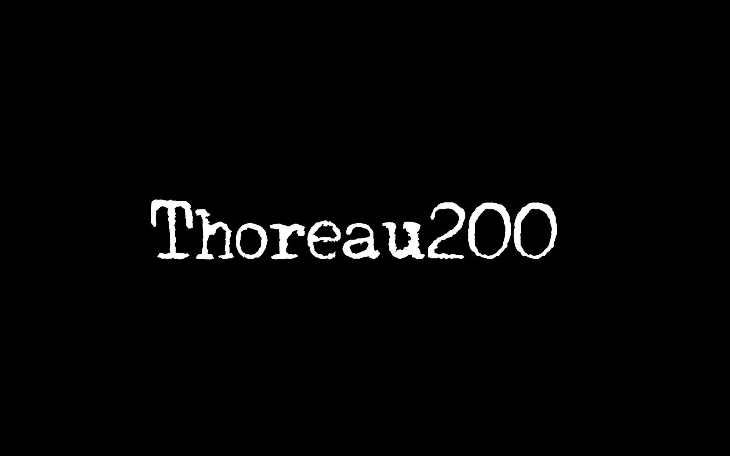 Thoreau200