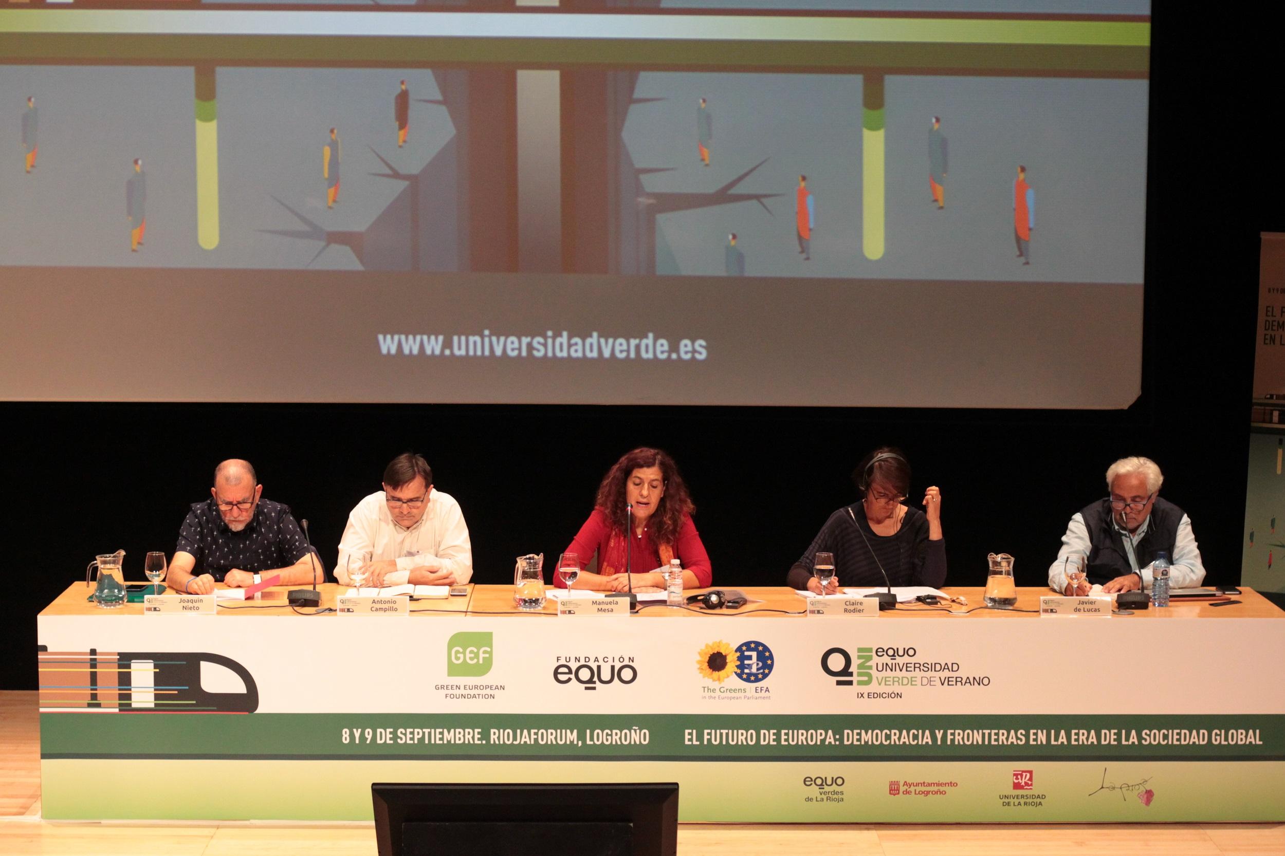 La Universidad Verde clausura con una reflexión sobre la necesidad de tejer alianzas para hacer frente a la crisis del proyecto europeo