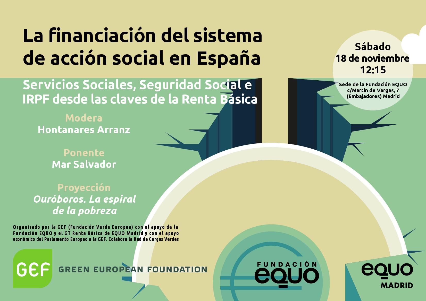"""Taller """"La financiación del sistema de acción social en España"""""""