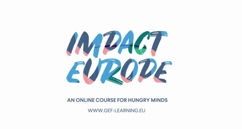 """Nueva versión del curso online de la GEF """"Impact Europe"""""""