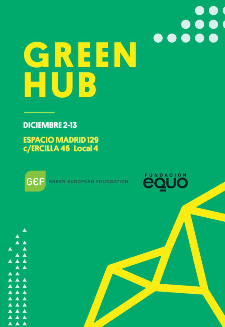 Green Hub: European green movement space during COP25