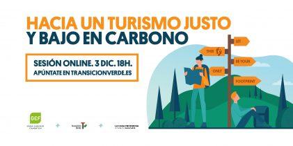 """Resumen de la jornada """"Hacia un turismo justo y bajo en carbono"""""""