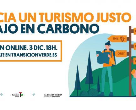 Jornada online «Hacia un turismo justo y bajo en carbono»
