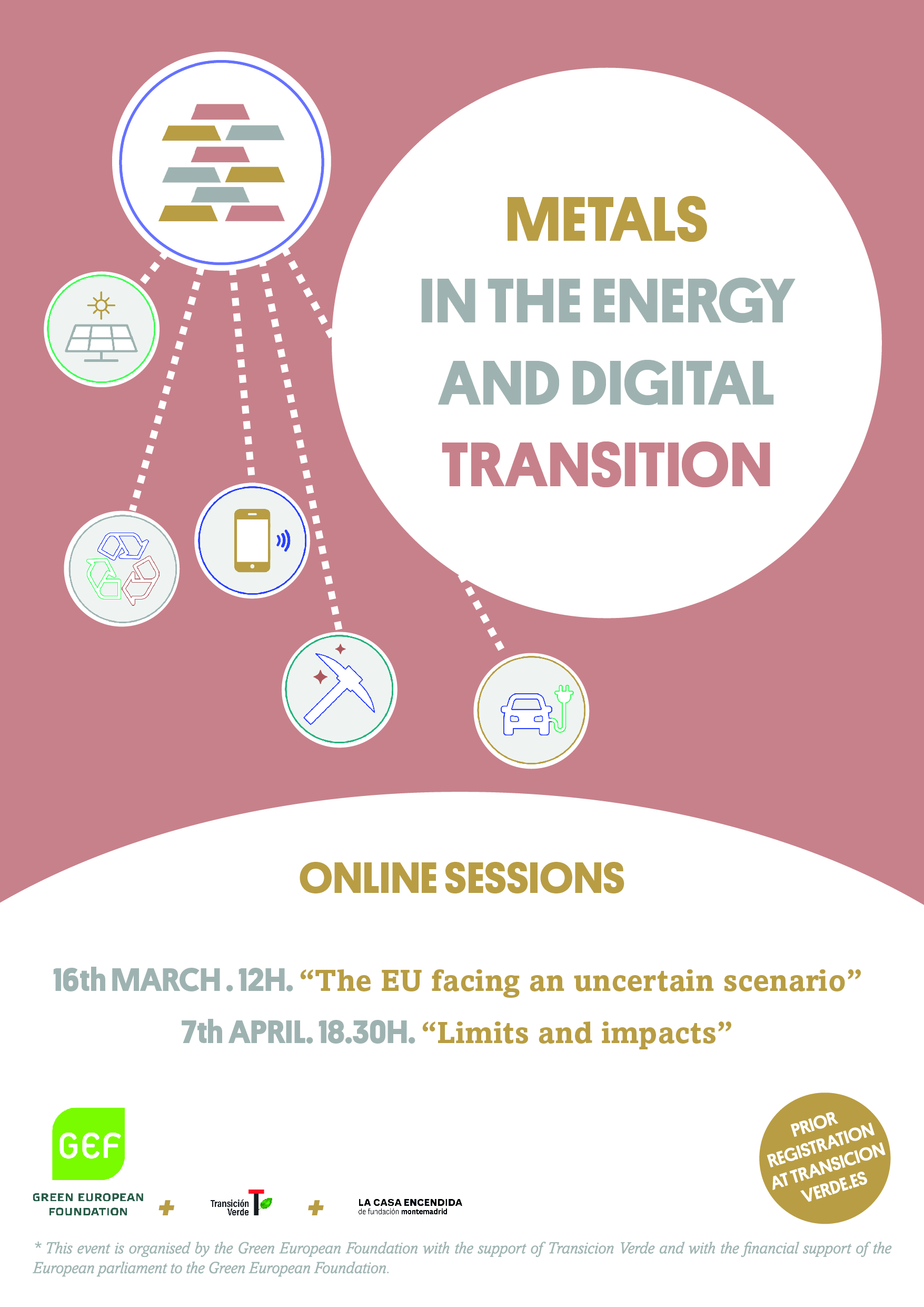 "Events on ""Metals in the Energy and Digital Transition"""